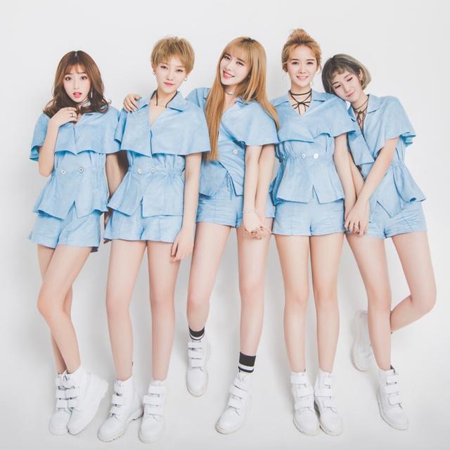 UP FAMILY 1.0女团发布会